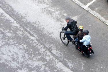 Miguel Barroso e a sua Xtracycle